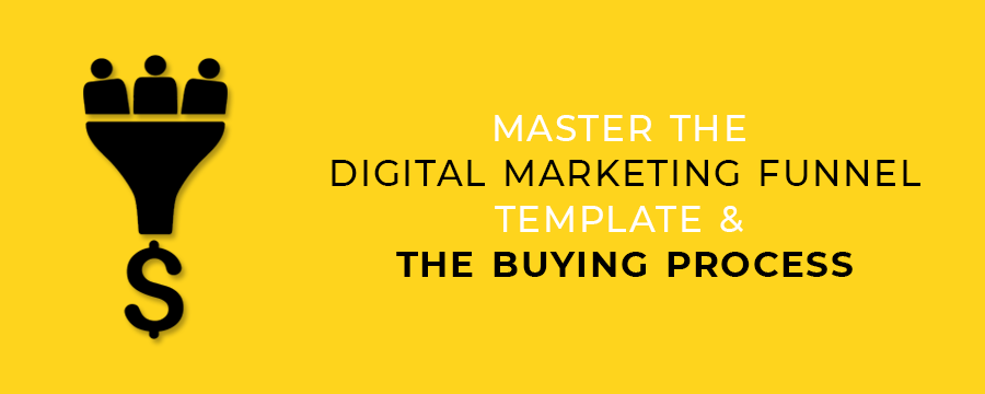 Master the Digital Marketing Funnel Template & The Buying Process