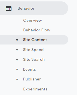 Behavior reports show you how users behave once they get on the website - What Does Google Analytics Do
