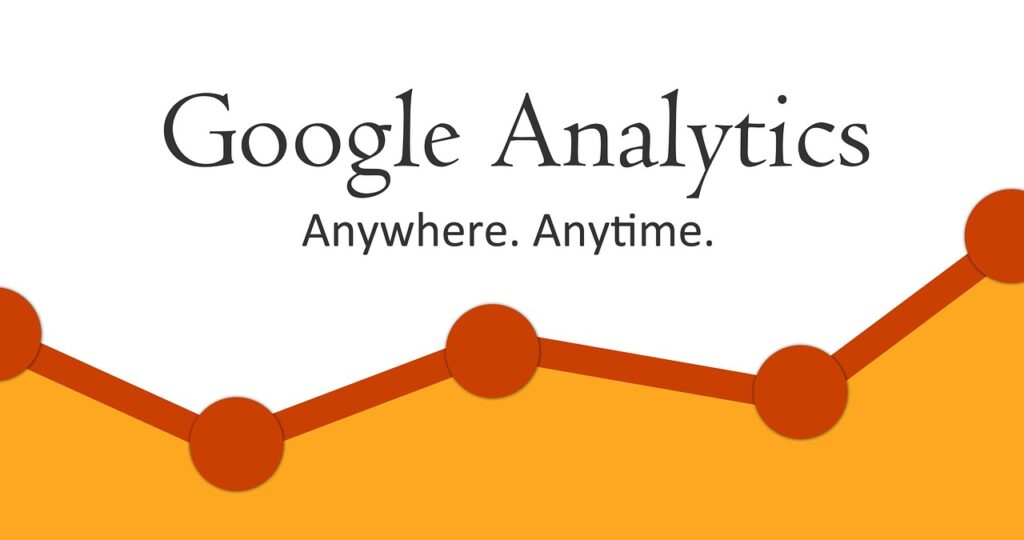 The Google Analytics keyword report lets you see which keywords visitors use to reach your site