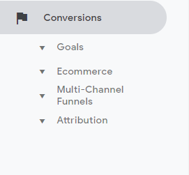 The conversions section shows you reports on how your campaigns are performing and whether users are taking the right action - What Does Google Analytics Do